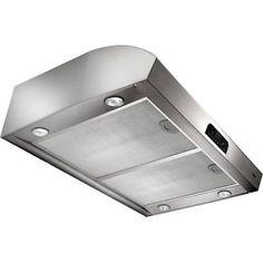 "Broan QP336 Stainless Steel 450 CFM 36"" Wide Steel Under Cabinet Range Hood"