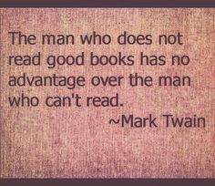 If you're not #reading great #nonfiction #books everyday according to #marktwain you're just as dumb as an illiterate person. Self-chosen ignorance is nothing to be proud of.  #politicallyincorrect #politicallycorrect #amreading #success #successful #successquotes #quote #quotes #audible #goals  What GREAT book are you currently reading?