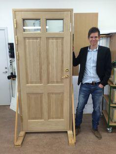 Final Term, Oak Frontdoor, woodworking, Joinery, Building Joiner. B+