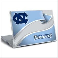 North Carolina Tarheels UNC Laptop Notebook Skin Sticker