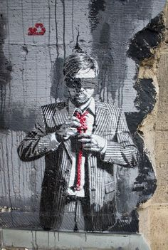 """""""Down to Business"""" by Decycle 2013, Germany #street #art"""