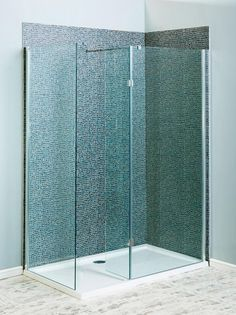 Milano Beka Recess Walk In 8mm Shower Enclosure 1100x800 - 1100x800 - Walk In Showers - Shower Enclosures - Showers