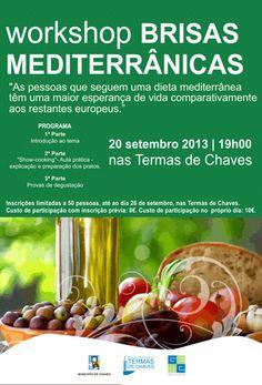 Workshop | Brisas Mediterrânicas | 20 de Setembro | 19h | Complexo Termal | Cha