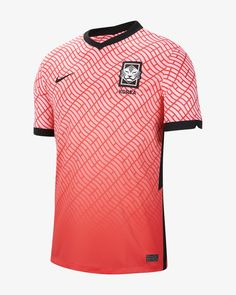 Nike Korea 2020 Stadium Home Big Kids' Soccer Jersey (Pink Beam) Football Jackets, Football Tops, Football Outfits, Football Jerseys, Nike Dri Fit, Camisa Nike, Kids Soccer, Team Uniforms, Outfits
