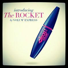 Mi nueva mascara maybelline The rocket by volum express