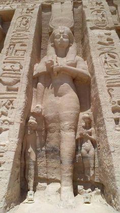 Temple de la grande épouse royale Néfertari.
