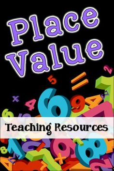 Place Value Teaching Resources and Freebies in Laura Candler's File Cabinet Math Place Value, Place Values, Math Activities, Teaching Resources, Math Games, Teaching Ideas, Grade 6 Math, Grade 2, Math Classroom