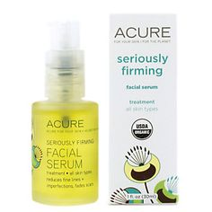 Buy SERIOUSLY FIRMING FACIAL SERUM (1 Ounces Serum) from the Vitamin Shoppe. Where you can buy SERIOUSLY FIRMING FACIAL SERUM and other Acure Organics products? Buy at at a discount price at the Vitamin Shoppe online store. Order today and get free shipping on SERIOUSLY FIRMING FACIAL SERUM (UPC:854049002132)(with orders over $35).
