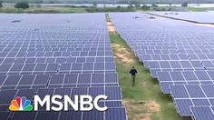 China Leaving US Behind On Green Energy Jobs | On Assignment with Richard Engel | MSNBC - YouTube