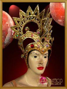 gold headdress - Google Search