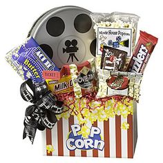 Movie Gift Basket..