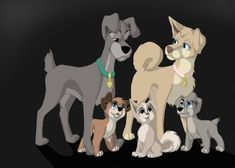 with Scamp and Angle who have grown up and got puppies, Scamp looks like a very tired family dad I skiped bagground this time Uhm Any Idears of. Disney Dogs, Old Disney, Disney Fan Art, Disney Crossovers, Disney Memes, Disney Cartoons, Cute Disney Drawings, Cute Drawings, Cute Disney Wallpaper