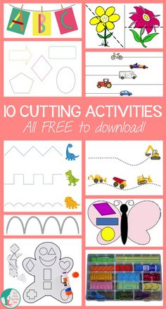 Here are 10 free packs that cover different levels of cutting skills!