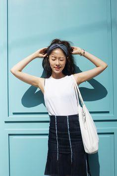 Korean fashion blogger yunique #blogger