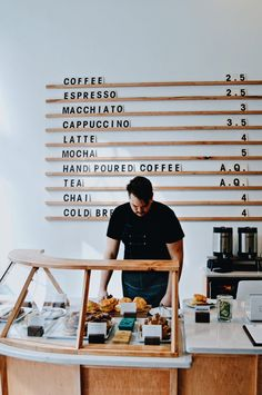 Today there are great deals of coffee shops. So that there is a great deal of special and also fascinating coffee bar interior design. Here is a motivation for a coffee shop decor ideas that you can utilize if you intend to open up a cafe. Design Shop, Café Design, Design Ideas, Menu Design, Menu Board Design, Book Design, Design Inspiration, Coffee Shop Interior Design, Coffee Shop Design