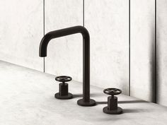 Fantini is best known for bringing together craftsmanship and cutting edge technology, as well as focusing on top quality design and constant material research. | Fontane Bianche mixer tap, Elisa Ossino, 2016  Fontane Bianche mixer tap comes from a partnership with designer Guido Salvatori.
