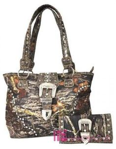 Real Tree Licensed Pink Camo Camouflage Western Purse Rhinestone Belt Buckle Ebay For The Pinterest Purses And