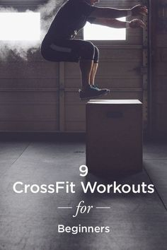 9 Crossfit workouts for beginners! Try out these 9 moves to see why this workout trend is so popular among Crossfit enthusiasts. Because CrossFit moves can be modified to fit nearly any fitness level, it's said to be appropriate for just about everyo Crossfit Moves, Crossfit Workouts For Beginners, Crossfit Humor, Extreme Workouts, Yoga For Beginners, Easy Workouts, At Home Workouts, Crossfit Trainers, Cross Fit For Beginners
