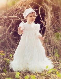 Couture Angel Devine Christening Gown  Newborn to 18 Months