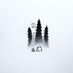 """Keeping it simple today. #drawing #art #penandink #doodle #doodling #design #stippling #dotwork #tattoo #iblackwork #camping #campvibes #pnw #upperleftusa #portland #oregon #keepitsimple #homeiswhereyoupitchit #backpacking"" Photo taken by @david_rollyn on Instagram, pinned via the InstaPin iOS App! http://www.instapinapp.com (02/07/2016)"