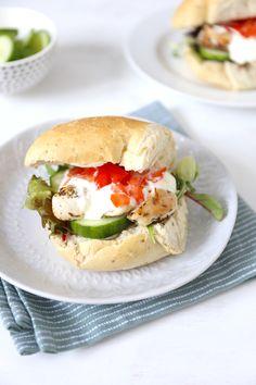 Italiaanse bol met kip - Lekker en Simpel