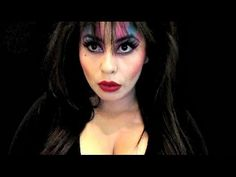 Elvira Mistress Of The Dark Makeup tutorial   2014 #beauty #bhcosmetics @bhcosmetics @revlon #halloween #halloweentutorial #makeuptutorial