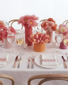 Pink Bridal Shower Ideas and Decorations We Love | Martha Stewart Weddings