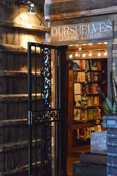 Ourshelves Lending Library in the Mission, San Francisco, photo by spottedsf. I Love Books, Books To Read, Lending Library, Beautiful Library, Home Libraries, Public Libraries, Book Nooks, Reading Nooks, Library Books