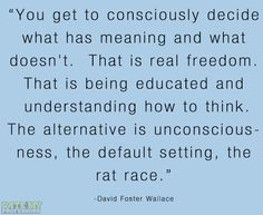 David Foster Wallace #quote