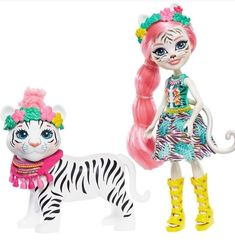 Enchantimals Frh38 Saffi Swan Doll Y Poise Figurilla Available In Various Designs And Specifications For Your Selection Muñecas Y Accesorios