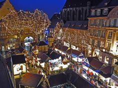 Marché de noël 2014 Colmar France - Elle
