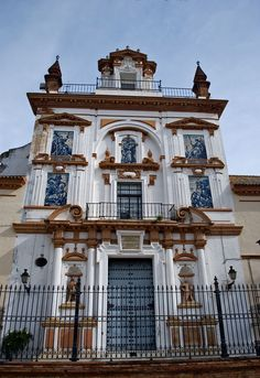 La Caridad church in Seville - Andalusia, Spain