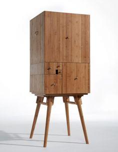 Fibonacci cabinet by utopia architecture and design