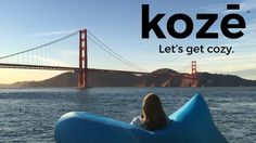 Koze - Lightweight, Inflatable, and Amazing Comfort Anywhere