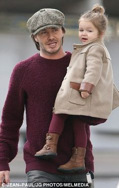 Posh's fun-sized fashionista: As Harper Beckham steps out in her chicest outfit yet, we take a look at her best ensembles | Daily Mail Online