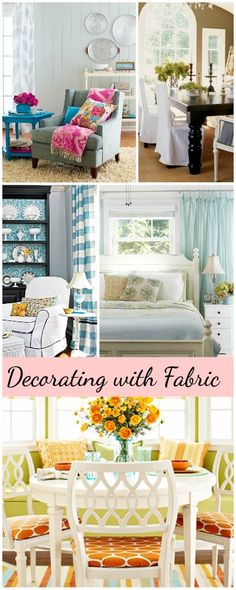 Decorating With Fabric Ideas Tips