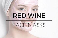 DIY Red Wine Face Masks