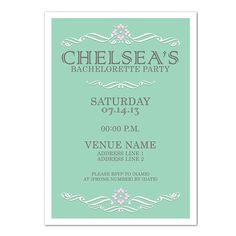 Custom Scroll Invite  5x7 Invitations with by DfinitiveDesign, $22.00