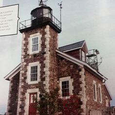 Granite Island Lighthouse: Michigan