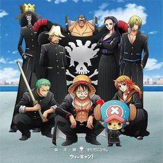 ONE PIECE, Mugiwara/Strawhat Pirates, Japan Yankee
