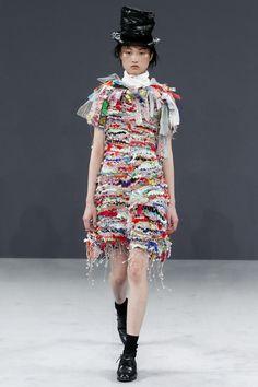 Viktor & Rolf Fall 2016 Couture Fashion Show - Jing Wen Look 5 vakantie land Tapijten