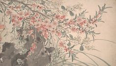 After Chen Chun (Chinese, 1483–1544). Garden Flowers, dated 1540. The Metropolitan Museum of Art, New York. Gift of Douglas Dillon, 1986 (1986.266.1a–u) #spring #AsianArt100