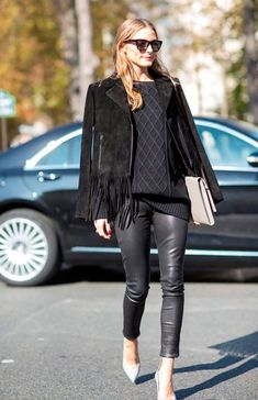 Spring Outfits: 50 Flawless Looks to Copy - Olivia Palermo style Mode Chic, Mode Style, Olivia Palermo Street Style, Olivia Palermo Winter Style, Olivia Palermo Outfit, Mode Outfits, Fashion Outfits, Fashion Weeks, Chic Outfits
