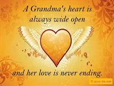 To all of my beautiful Grandbabies, I Love You!