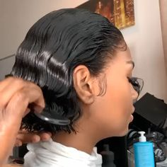 Curly Bob Wigs, Short Human Hair Wigs, Curly Lace Front Wigs, Lace Wigs, Hair Videos, Human Hair Extensions, Bob Hairstyles, Black Hairstyles, Curly Hair Styles