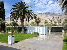 Leo Parrella Design Group Tony Curtis/Janet Leigh residence Movie Colony Palm Springs CA