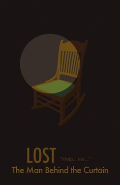 Lost minimalist poster - The Man Behind the Curtain Lost Poster, Lost Episodes, Lost Tv Show, Lets Get Lost, In Another Life, Lost Art, Through The Looking Glass, Minimalist Poster, Cultura Pop