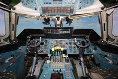 Antonov An 225 Cockpit and Cabin