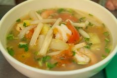 Sweet and sour soup #food (Photo: Patricia Alvarado)