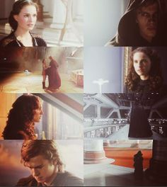 The tragedy... ~ Padmé and Anakin Skywalker... Cutest couple ever